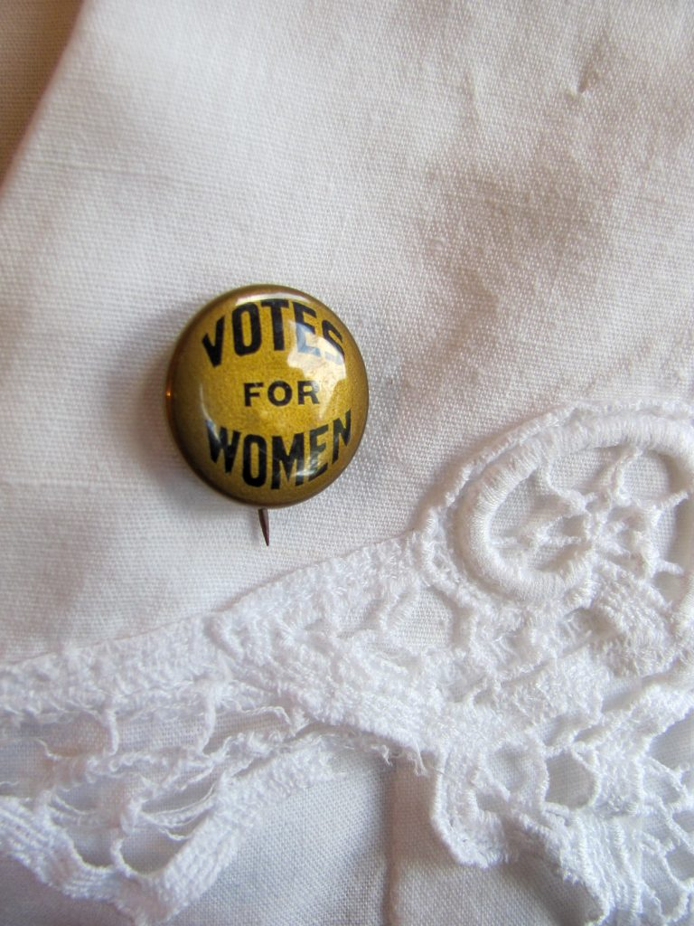 Vote for Women Button
