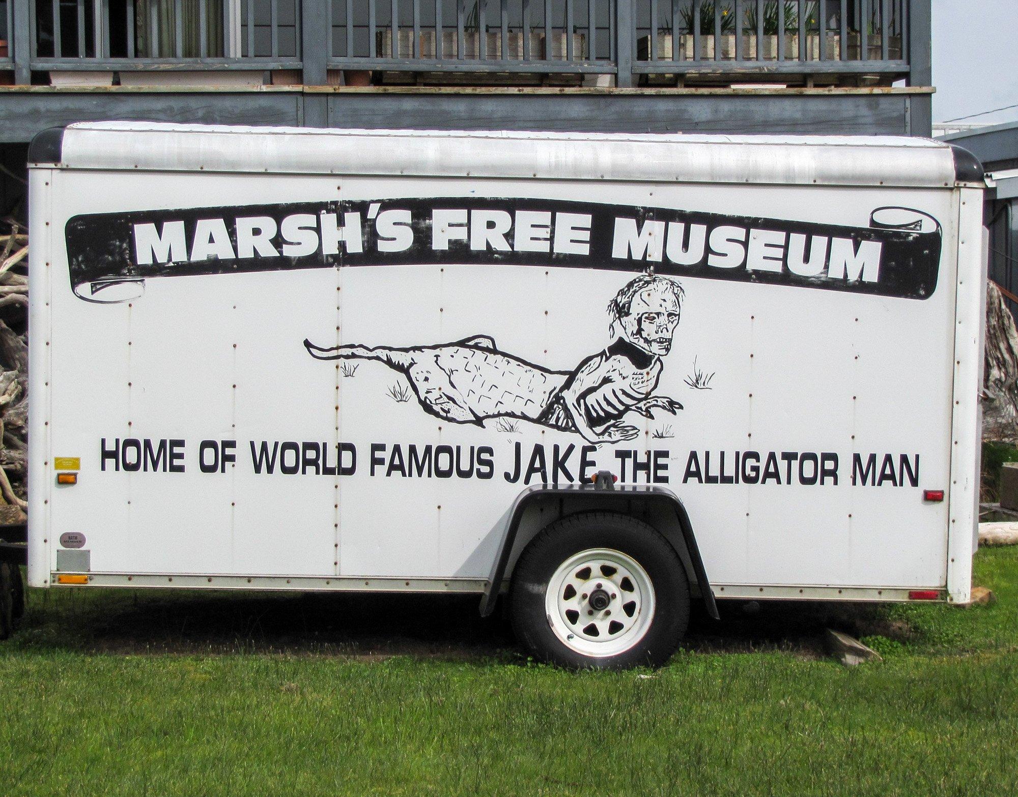 Marsh's Museum trailer
